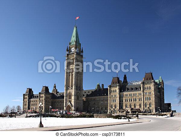 Canada\'s Parliament - csp3173811