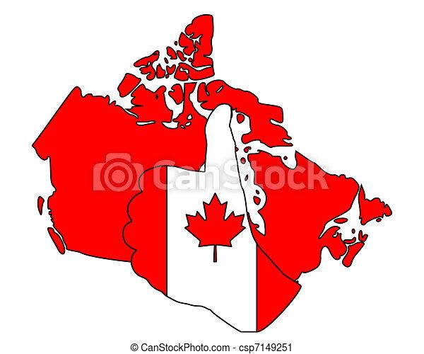 Canadia hand signal - csp7149251