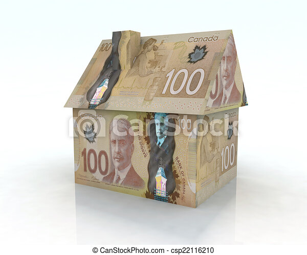 canadian dollar house - csp22116210