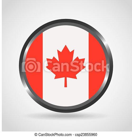 canadian flag - csp23855960