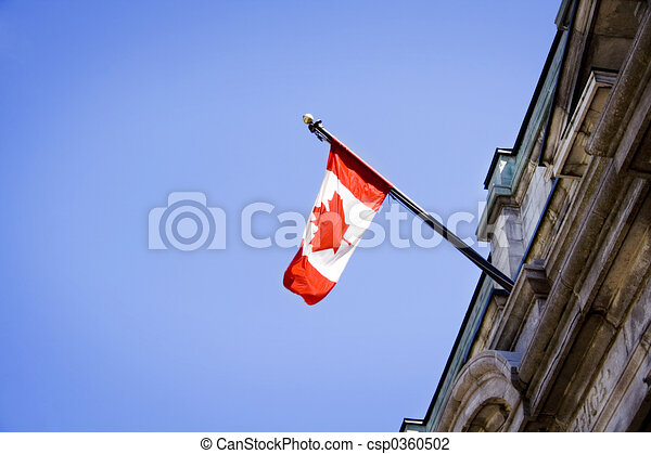 Canadian flag - csp0360502