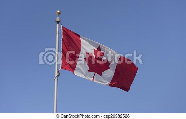 Canadian Flag - csp26382528