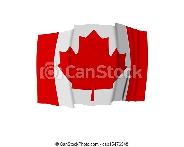 Canadian Flag - csp15476348
