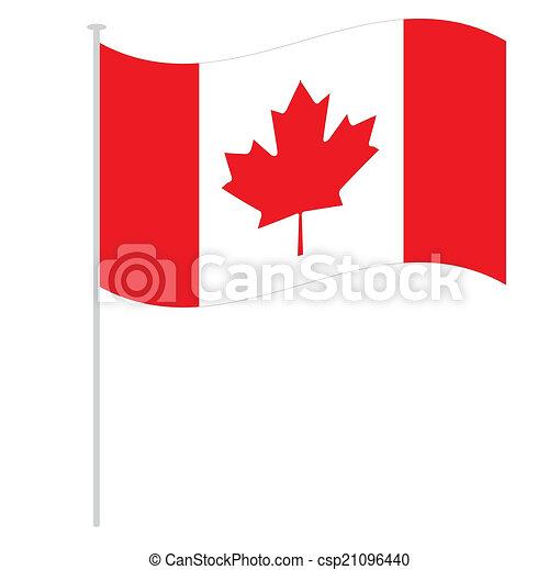 canadian flag - csp21096440