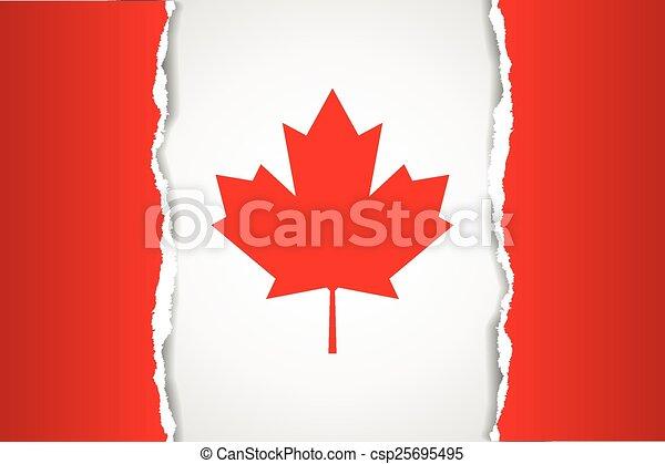 Canadian flag - csp25695495