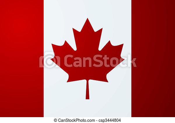canadian flag - csp3444804
