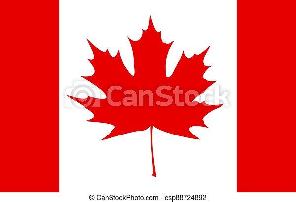 Canadian Flag - csp88724892