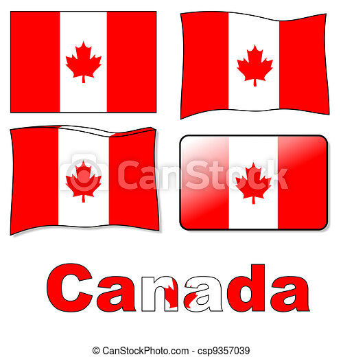 Canadian flag - csp9357039