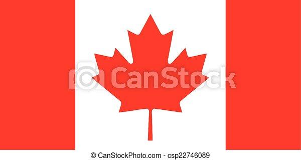 Canadian Flag - csp22746089