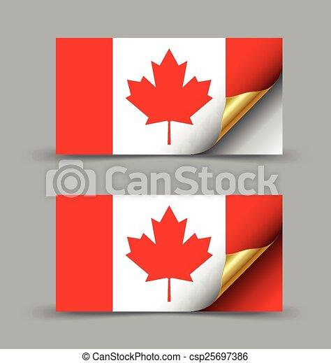 Canadian flag - csp25697386