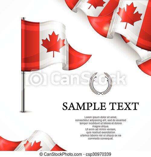Canadian flag - csp30970339