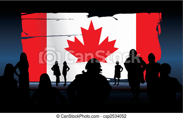 canadian flag - csp2534052
