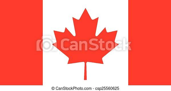 Canadian Flag - csp25560625