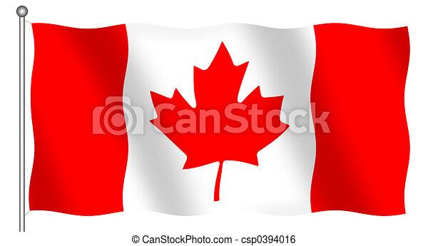 Canadian Flag - csp0394016
