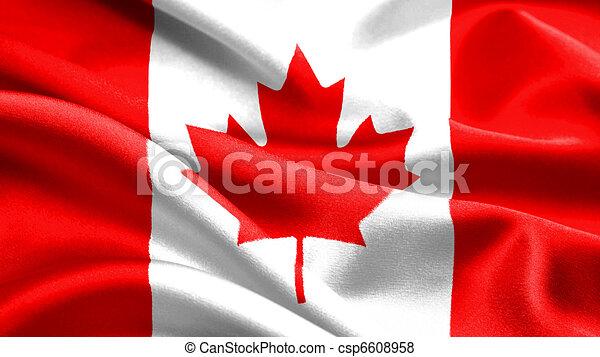 Canadian flag. - csp6608958