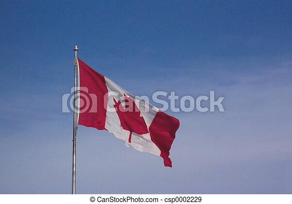 Canadian flag - csp0002229
