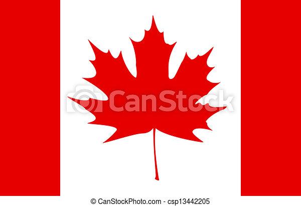 Canadian Flag - csp13442205