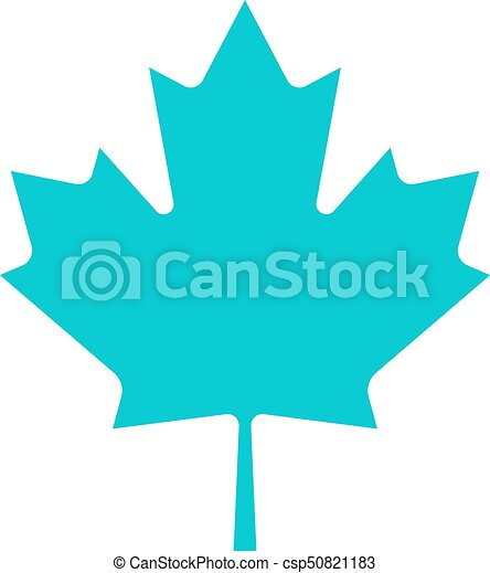 canadien, feuille, érable, signe - csp50821183