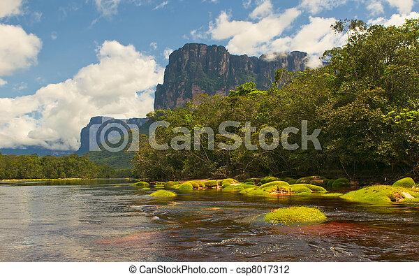 Canaima National Park, Venezuela - csp8017312