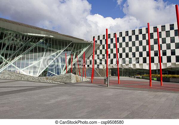 Teatro de Grand canal, dublin - csp9508580