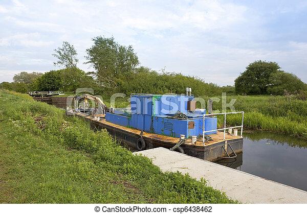 canal dredger - csp6438462