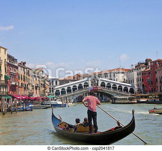 Gondola en el canal de ventilación - csp2041817