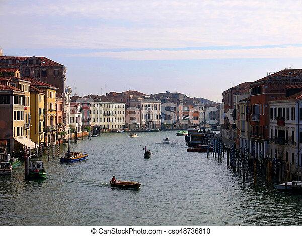 Grand canal venice italy - csp48736810