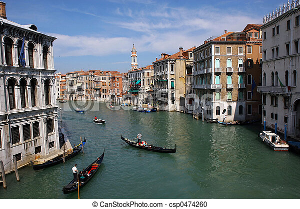 Venice Grand canal - csp0474260