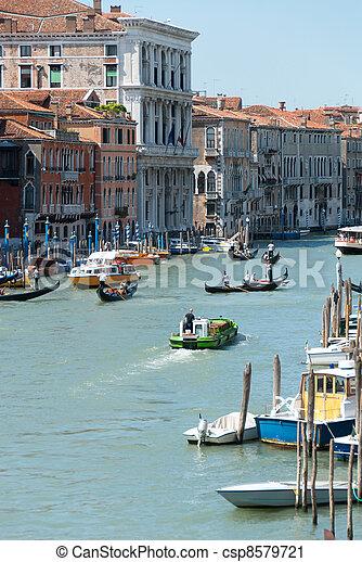 Gran canal en Venecia - csp8579721