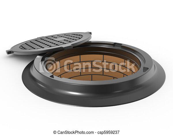 canalization manhole - csp5959237