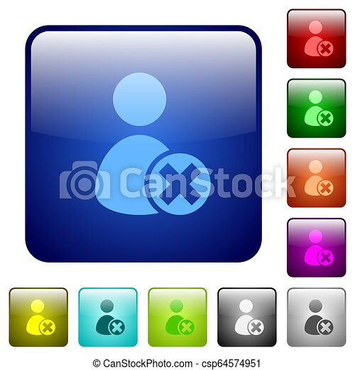 Cancel user account color square buttons - csp64574951