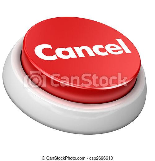 Botón cancelado - csp2696610