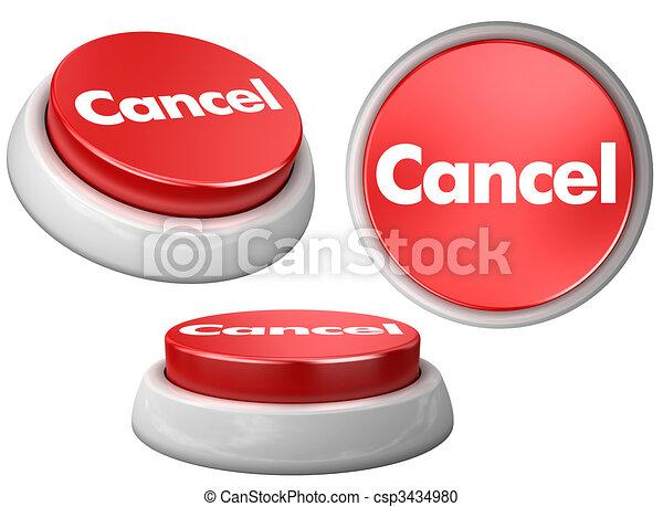 Cancela el botón - csp3434980