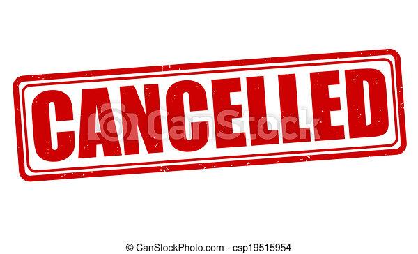 Cancelled stamp - csp19515954