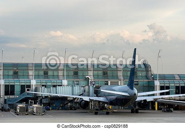cancello, aereo - csp0829188