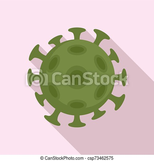 Cancer cell icon, flat style - csp73462575