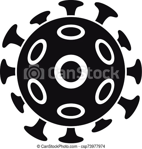 Cancer cell icon, simple style - csp73977974