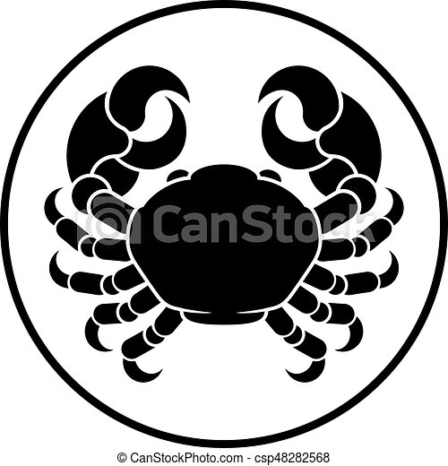 Cancer Horoscope Zodiac Sign Crab Cancer Crab Horoscope Astrology