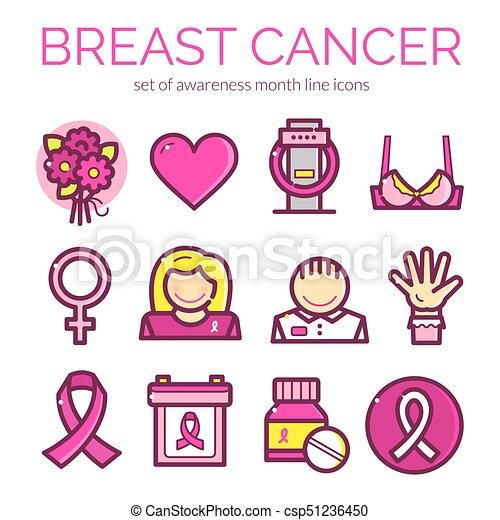 Cancer vector illustration - csp51236450