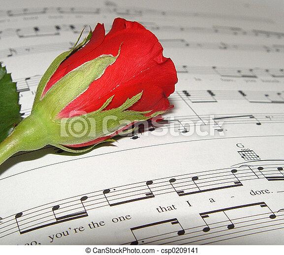 Una canción de amor - csp0209141