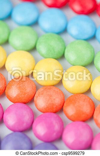 Candies multi coloured - csp9599279