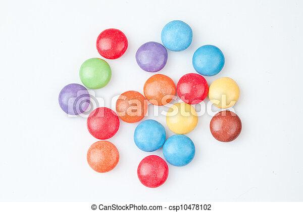 Candies multi coloured - csp10478102