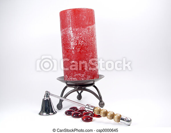 Candle and Snuffer - csp0000645