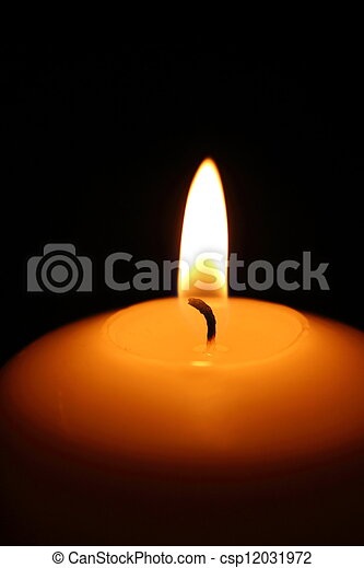 candle flame - csp12031972
