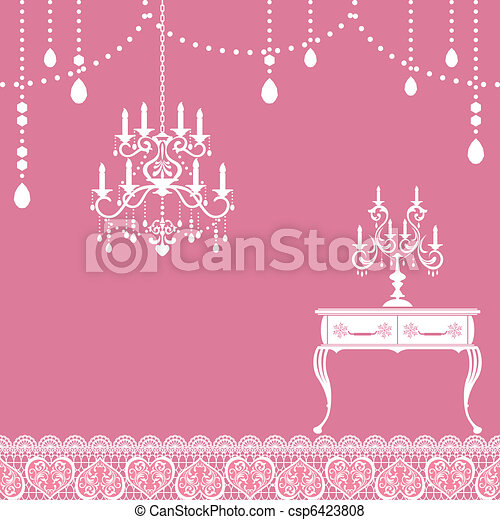 Candle frame - csp6423808