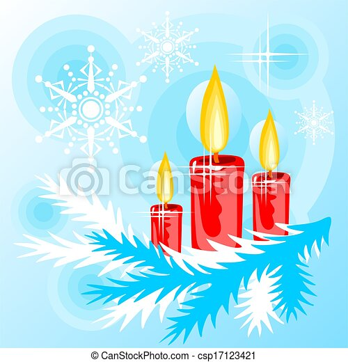 candles background - csp17123421