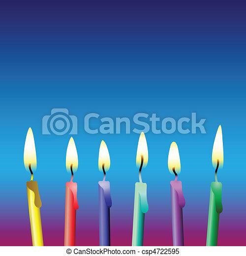 Candles - csp4722595