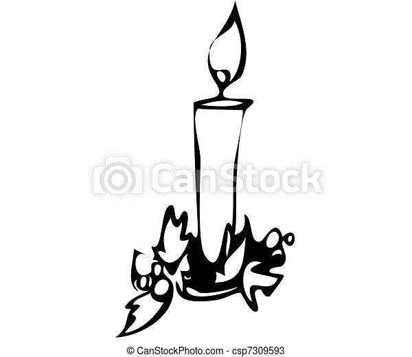 Candles - csp7309593