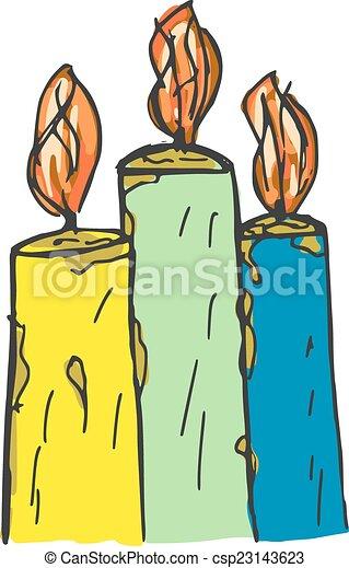 candles - csp23143623