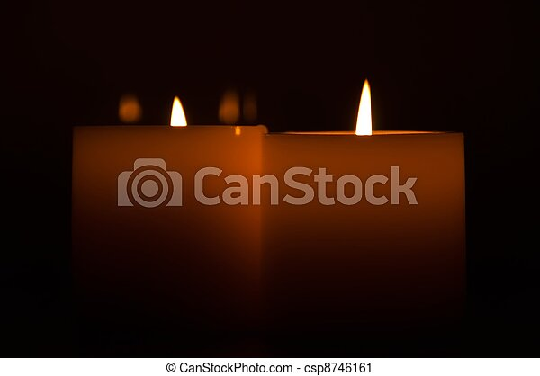 candles in the dark - csp8746161